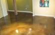 interior floor acid stain