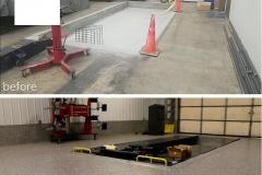 garage floor epoxy cost cincinnati