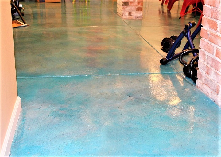 colored interior floor cincinnati