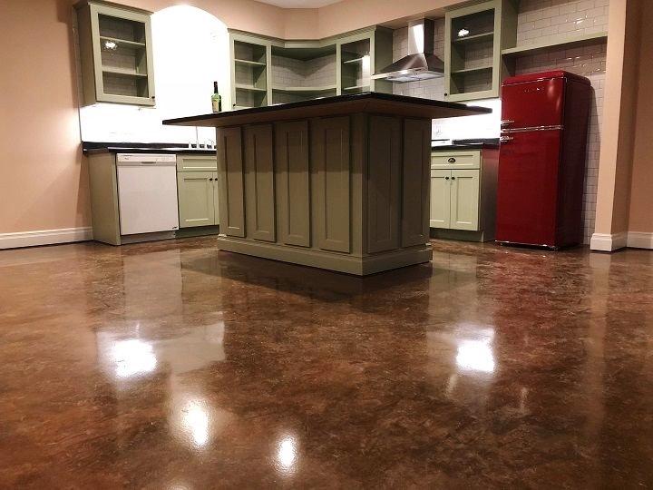 concrete floor stain cincinnati
