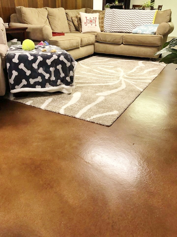 concrete floor stains cincinnati