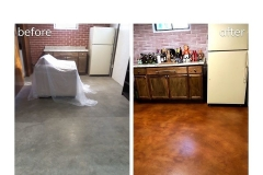 staining concrete floors cincinnati