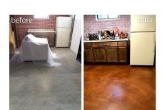 staining concrete floors cincinnati