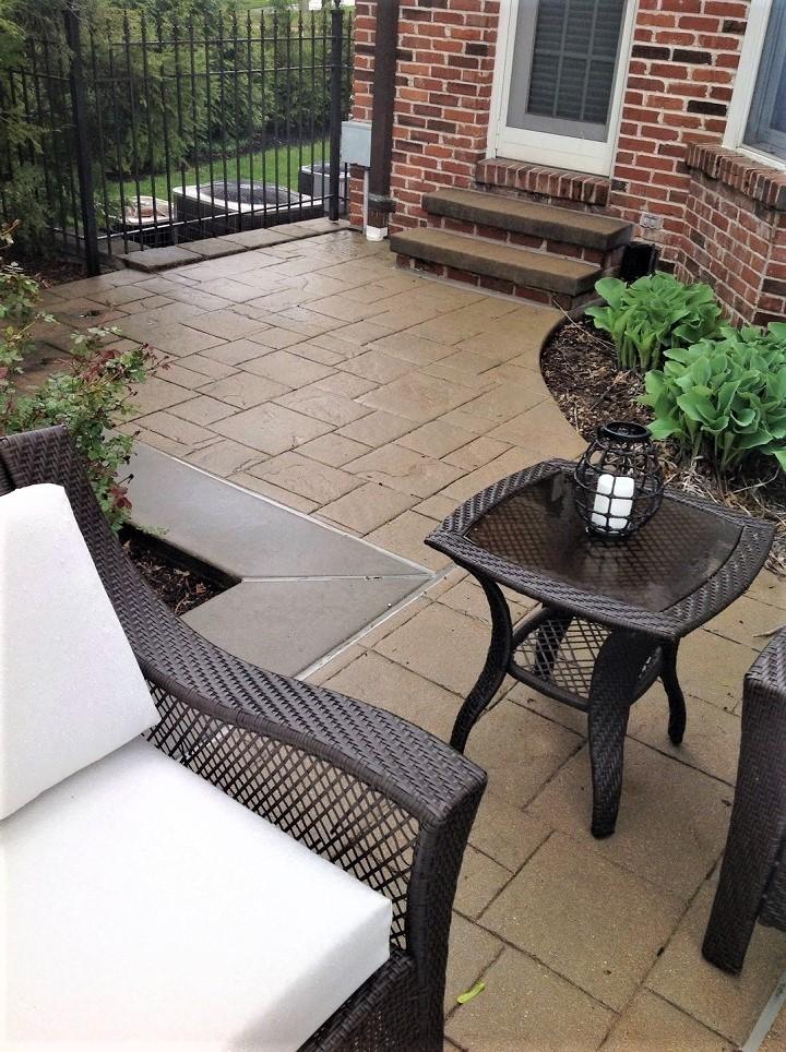 stamped concrete patio cincinnati