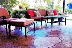colored concrete patio cincinnati