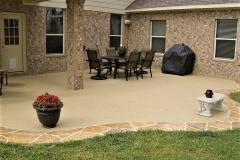 concrete patio designs cincinnati