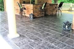 stamped concrete patio ideas cincinnati