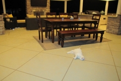 patio troweled finish