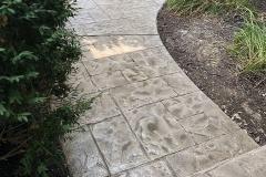 stamped concrete walkway cincinnati