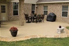 concrete patio designs cincinnati