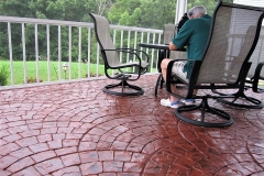 concrete patio stamping cincinnati