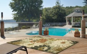 lounging area rug