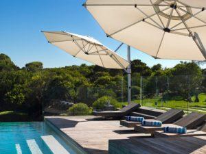 pool deck shade