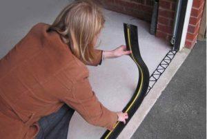 rubber garage door strip