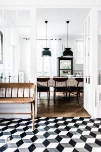 interior floor geometric patterns