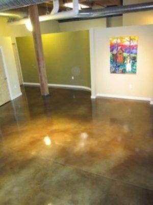 polished concrete floor cincinnati
